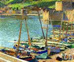 Bateaux de Peche de Collioure (Fishing Boats at Collioure)