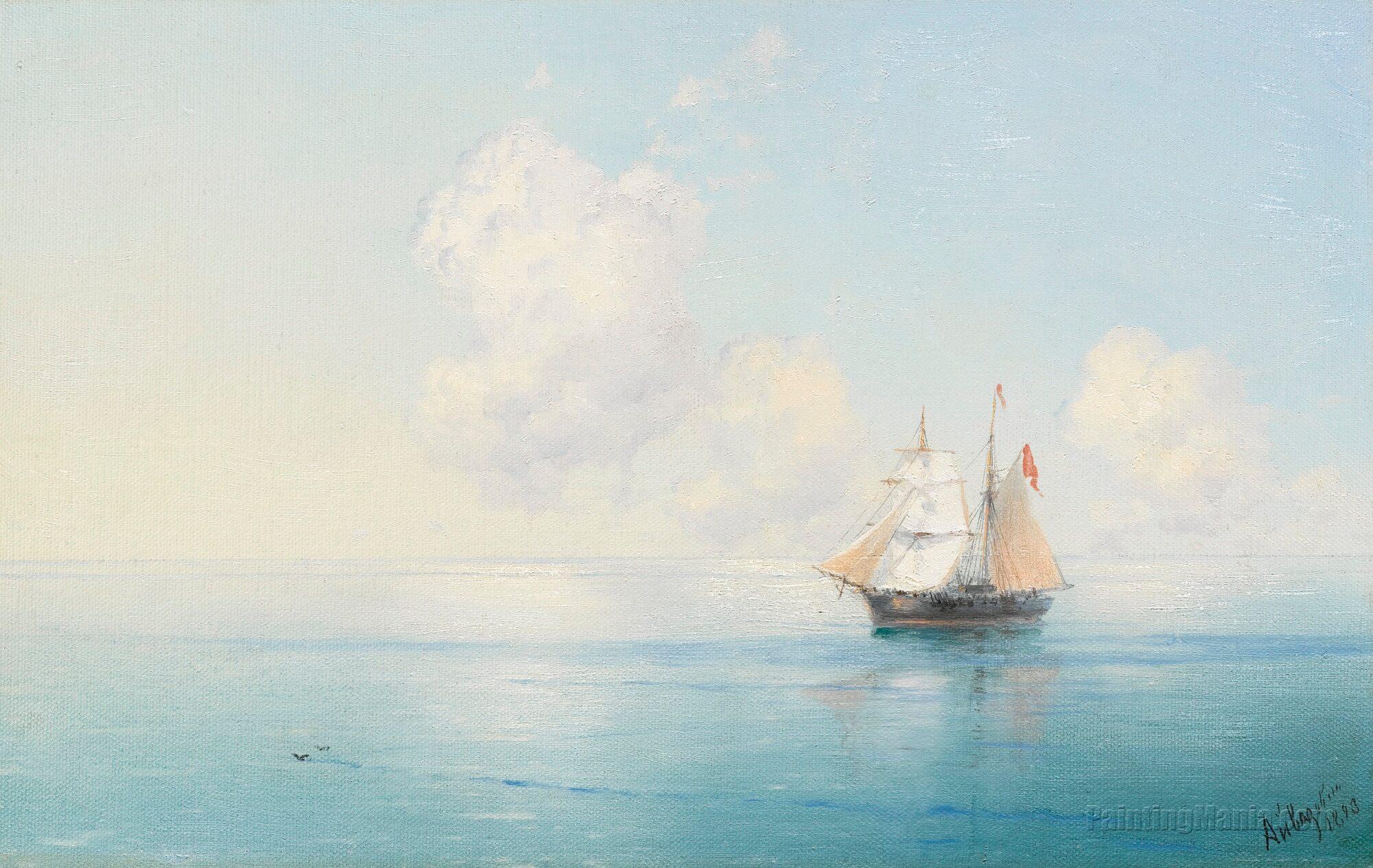 A Calm Morning at Sea