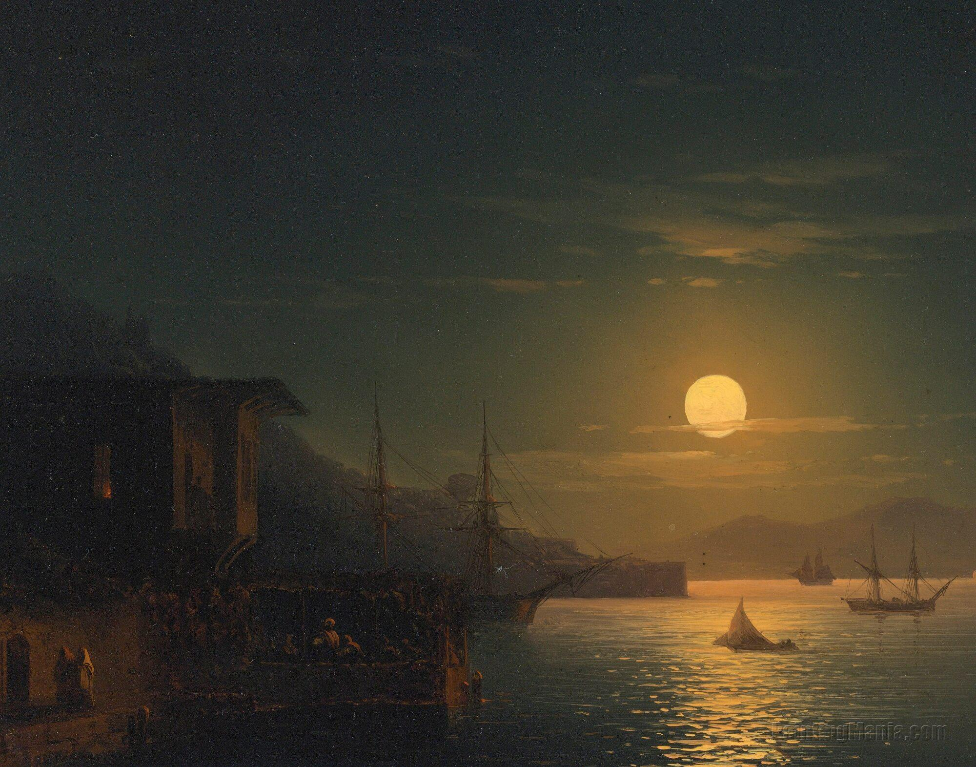 Moonlight On The Bosphorus