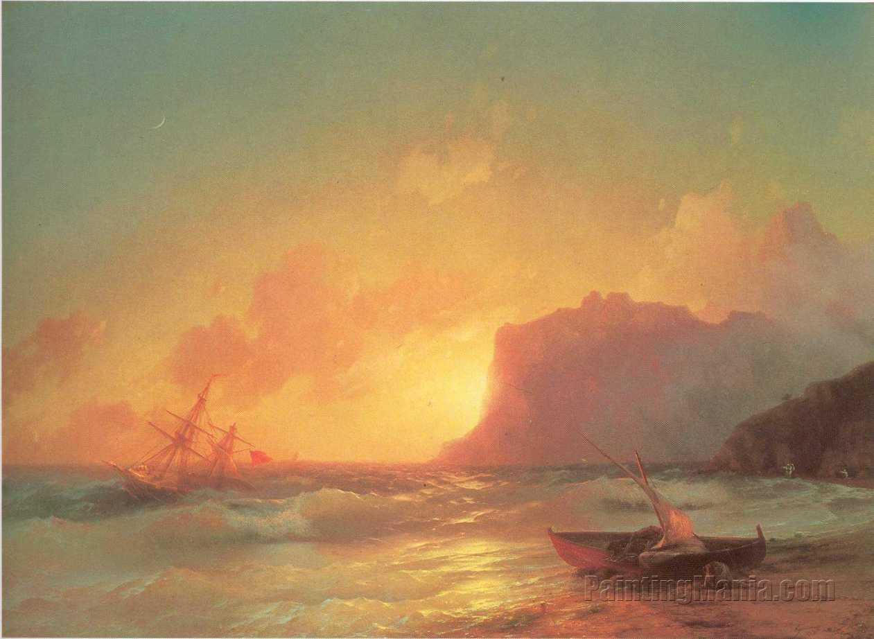 The Sea. Koktebel