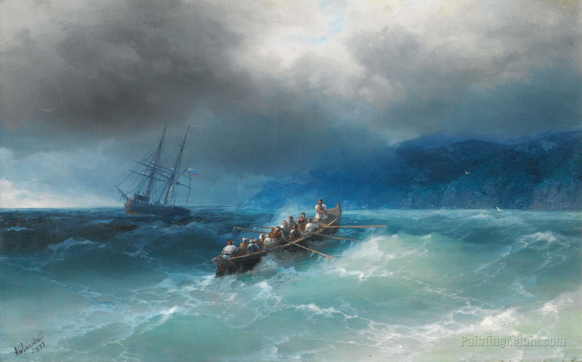 Storm over the Black Sea
