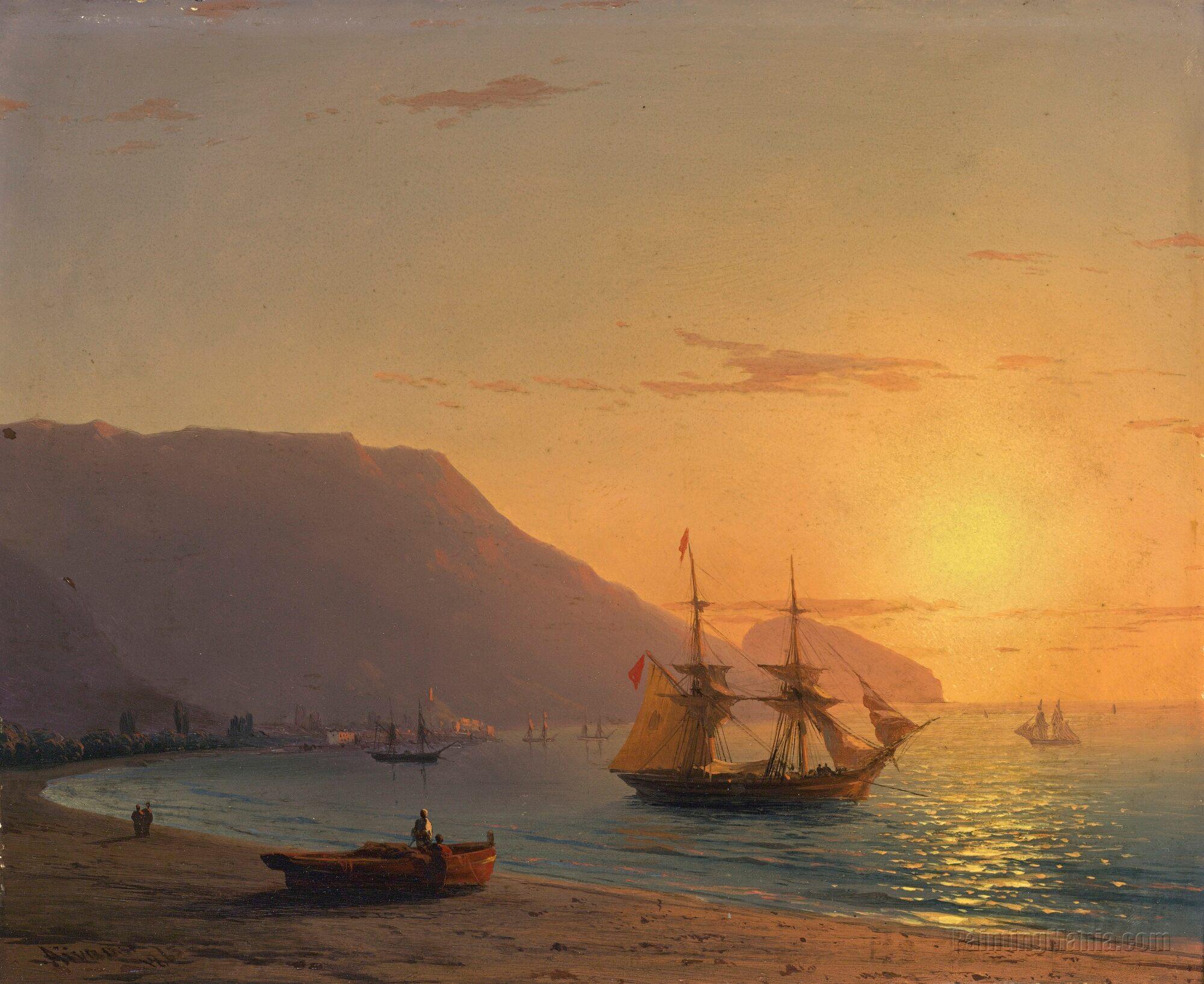Sunset, Crimea