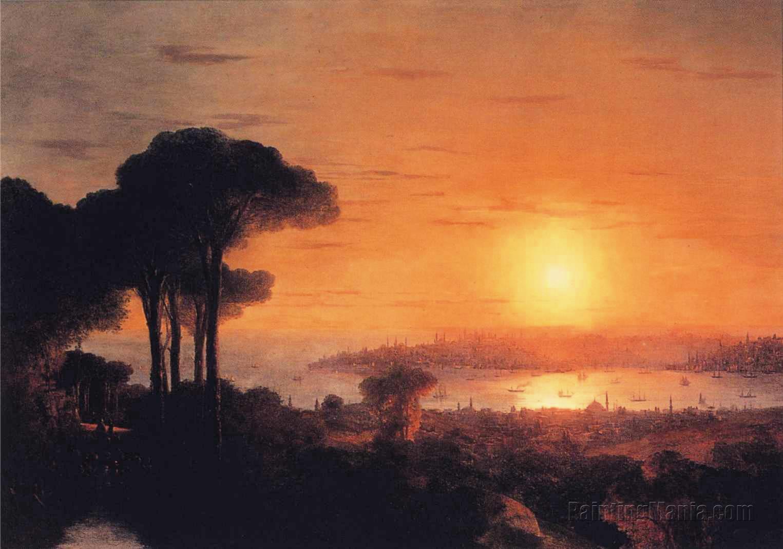 Sunset over the Golden Horn