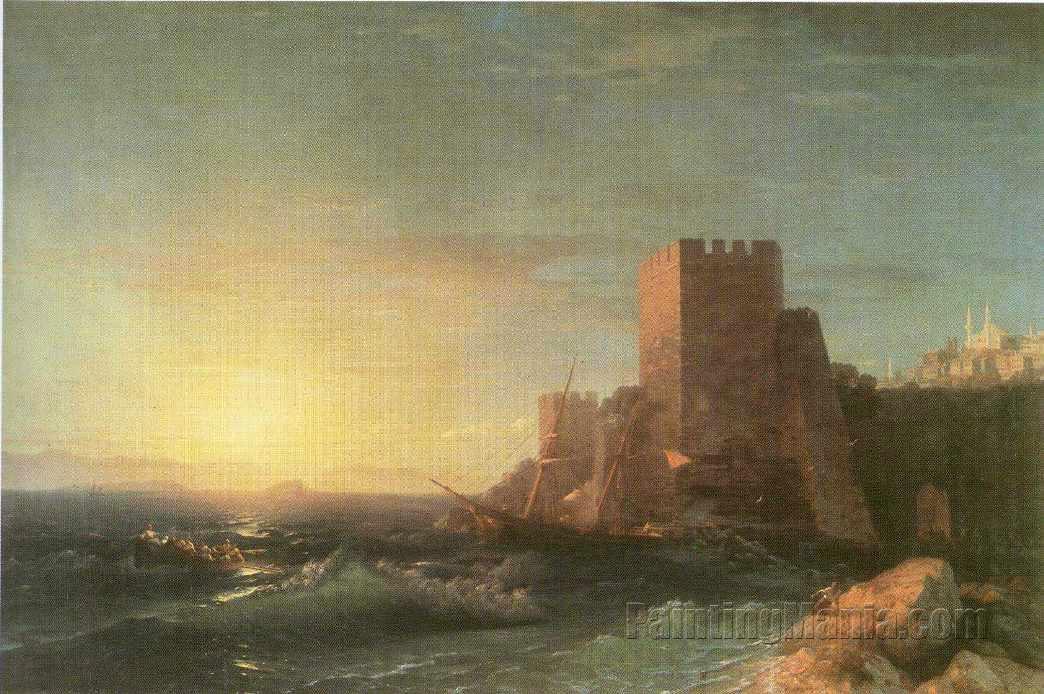Towers on the Rock near Bosporus
