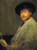 Arrangement in Grey: Portrait of the Painter