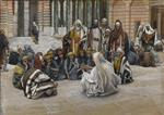 Jesus Speaks Near the Treasury