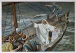 Jesus Stilling the Tempest (Jesus calmant la tempete)