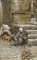 The Poor Lazarus at the Rich Man's Door