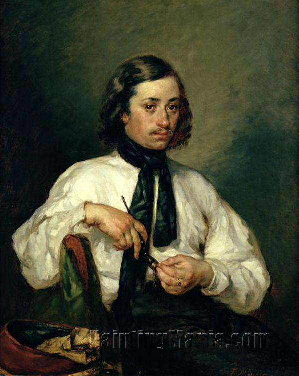 Portrait of Armand Ono, known as The Man with the Pipe