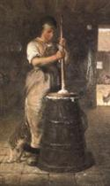 Churning Butter (La Baratteuse)