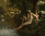 The Goose Girl (The Bather)