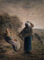 Shepherdesses Watching a Flight of Wild Geese