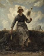 The Spinner, Goatherd of the Auvergne (A Fiadeira)