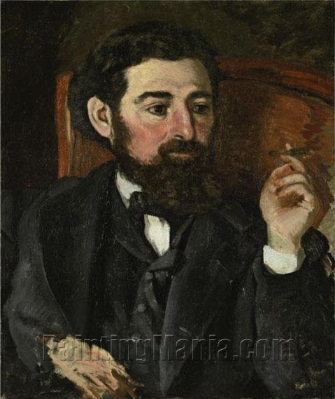 L'Homme au Cigare or Portrait de Zacharie
