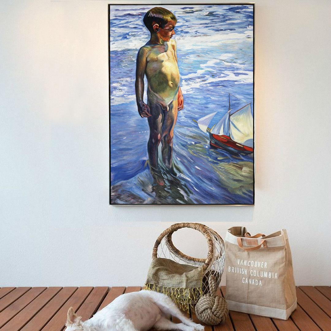 The Little Boatman