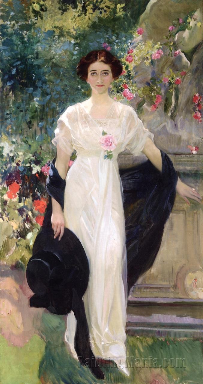 Miss Mary Lillian Duke (Mrs. Mary Duke Biddle)