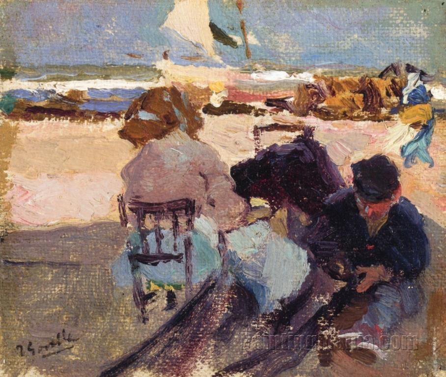 Valencia Beach 1904-1905