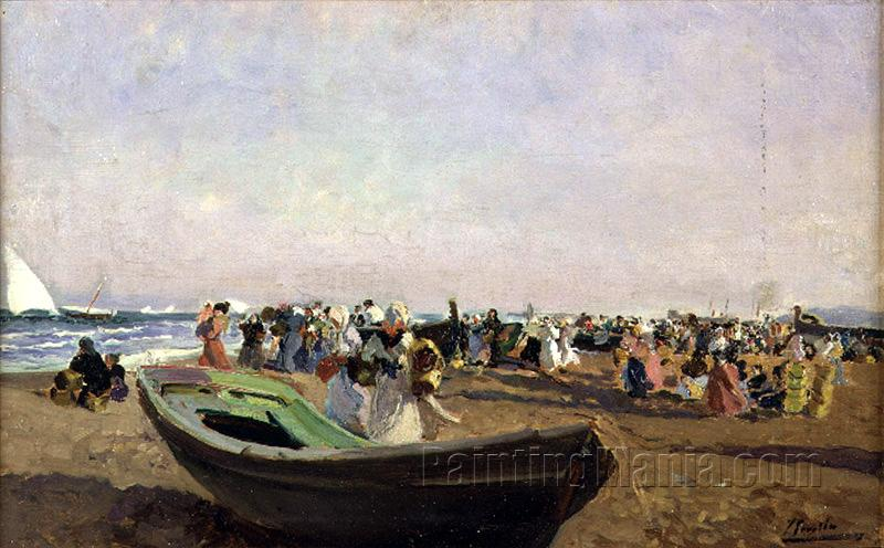 Valencia Beach, Fisherwomen