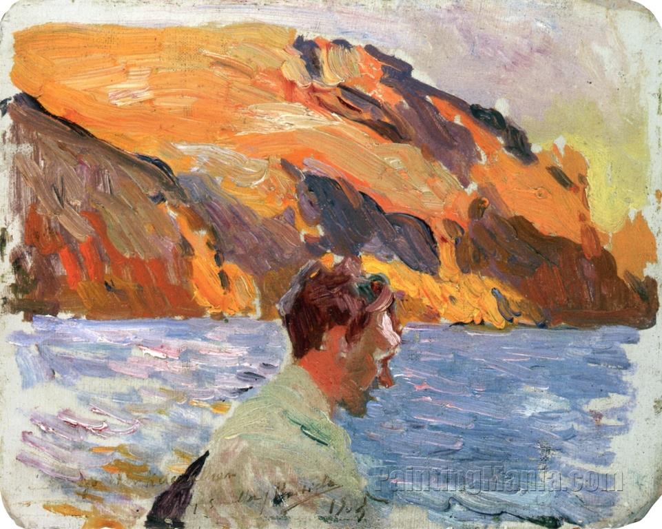 William E. B. Starkweather Fishing, Jamaica