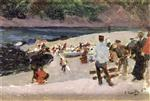 Asturias, Arrival of the Fishing Boats