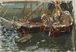 Barcas en el puerto (Boats in port)