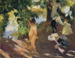 Bathing at La Granja