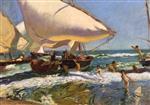 Beach of Valencia 1908