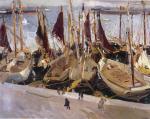 Boats in the Port, Valencia