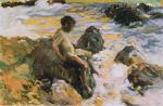 Boy in Sea Foam