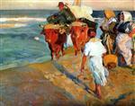 Valencia Beach, Morning Sun 1916