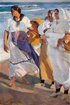 Valencian Fisherwomen 1915