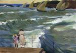The Waves at San Sebastian