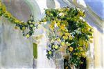The Yellow Rosebush of the Sorolla House