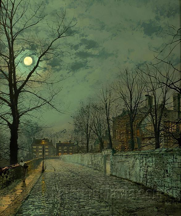 A Moonlit Road 2