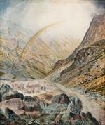 A Mountain Road, Flood Time