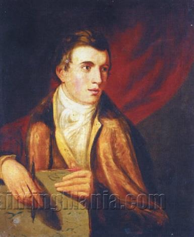 Portrait of Ramsay Richard Reinagle