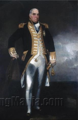 Portrait of Rear-Admiral Thomas Western