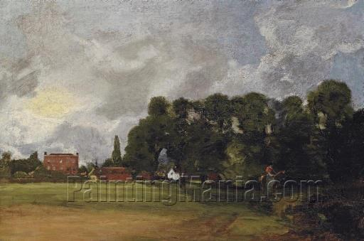 View of East Bergholt House