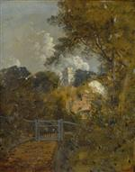 Landscape with a Road and a Castle Beyond