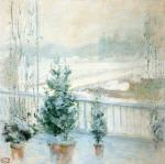 Balcony in Winter