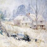 Country House in Winter, Cos Cob