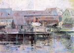 Waterfront Scene - Gloucester
