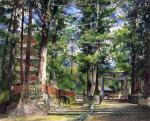 Avenue to the Temple of Iyeyasu, Nikko, Mid-Day Study