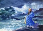 A Rishi Calling up a Storm, Japanese Folk Lore