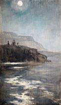 A Moonlit Coastline