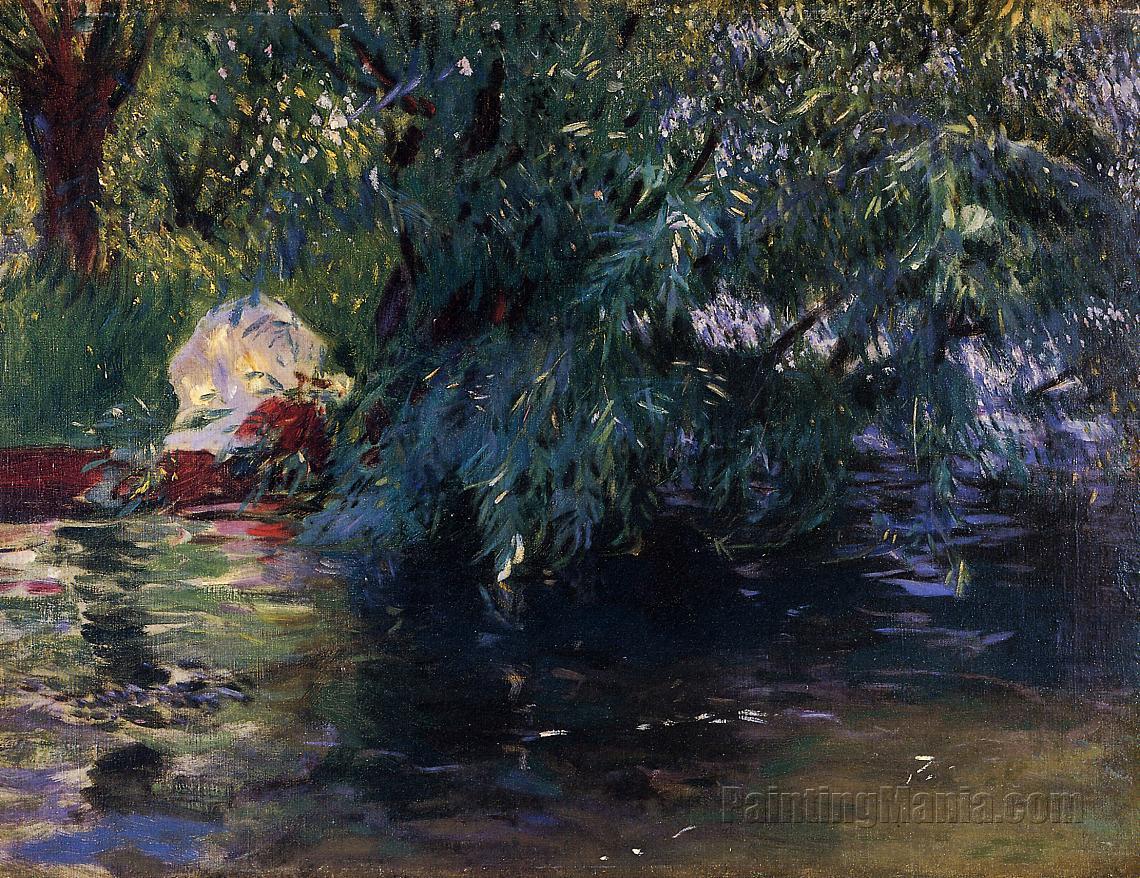 A Backwater at Henley