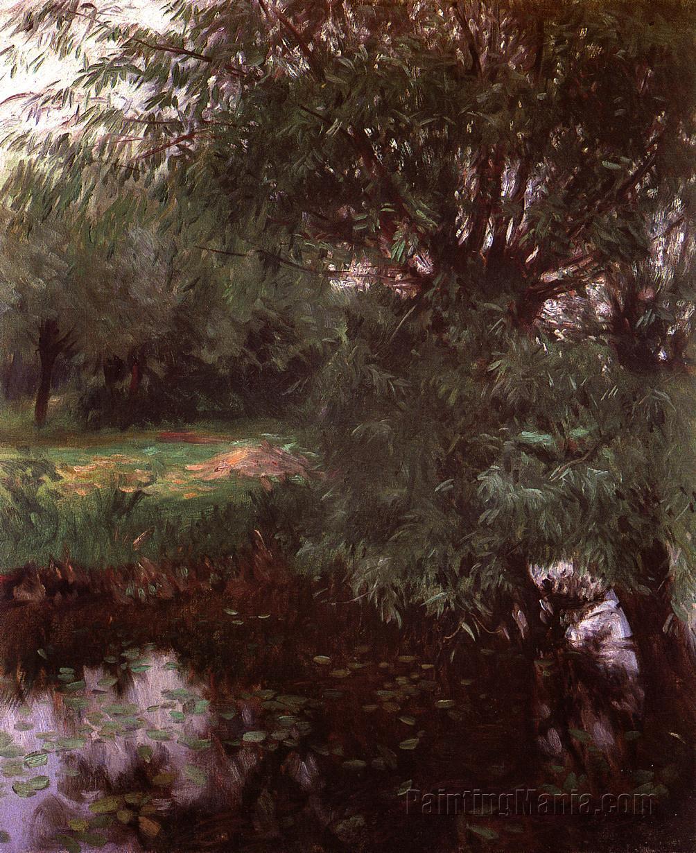 A Backwater at Wargrave
