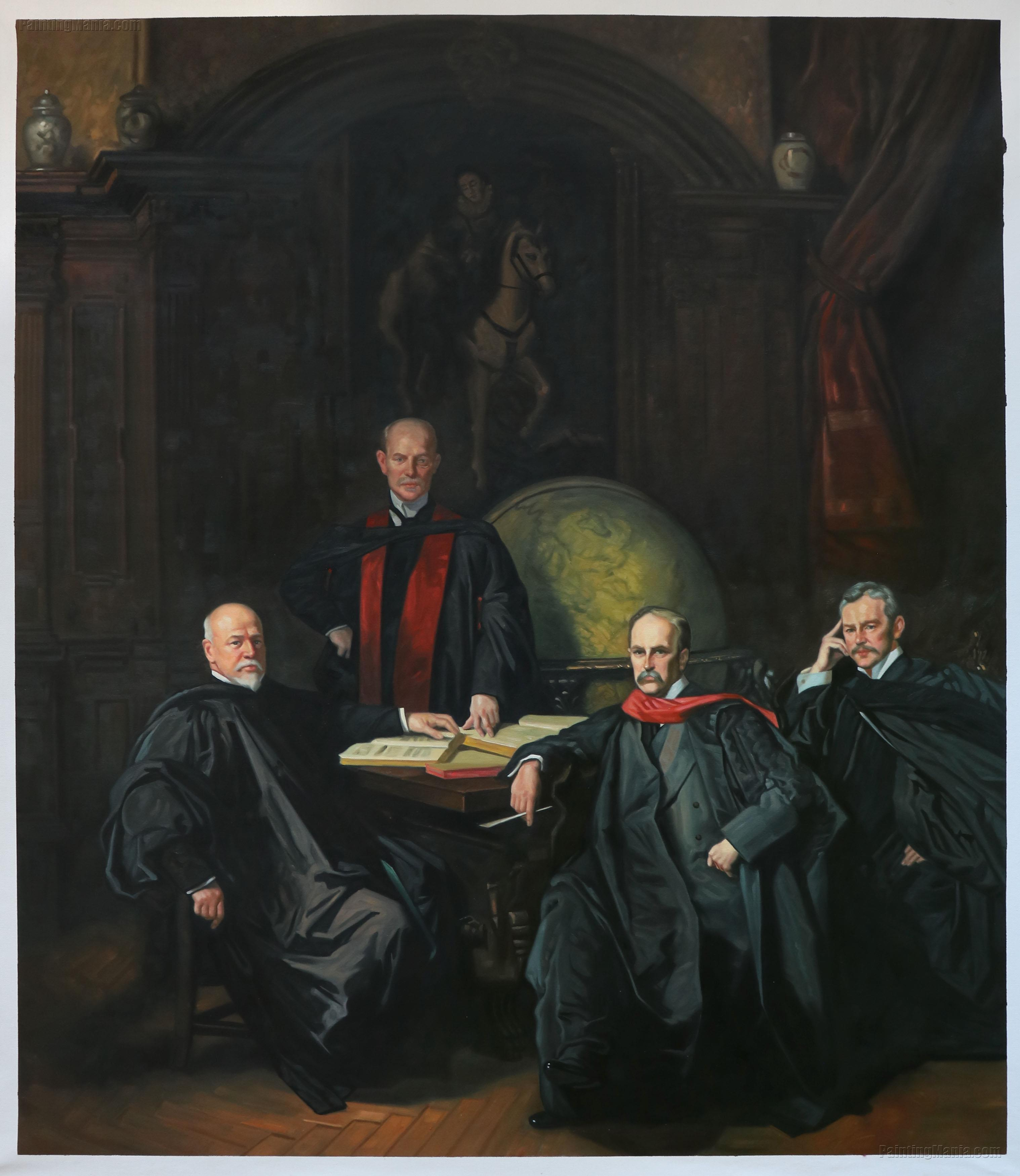 Professors Welch, Halsted, Osler and Kelly (The Four Doctors)