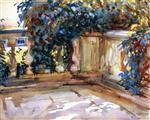 A Balustrade (Villa Marlia, Lucca)