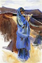A Bedouin Girl